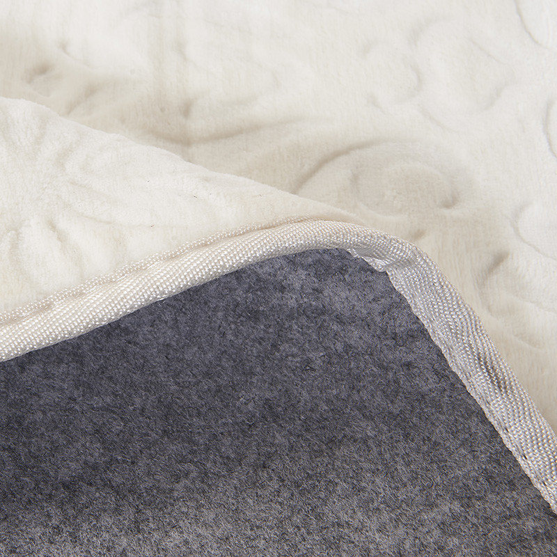 锦绣 混纺简约现代纯色正方形欧美手工织造 地毯