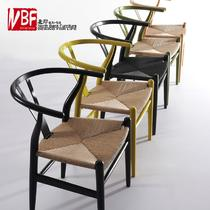 榉木成人北欧/宜家 餐椅