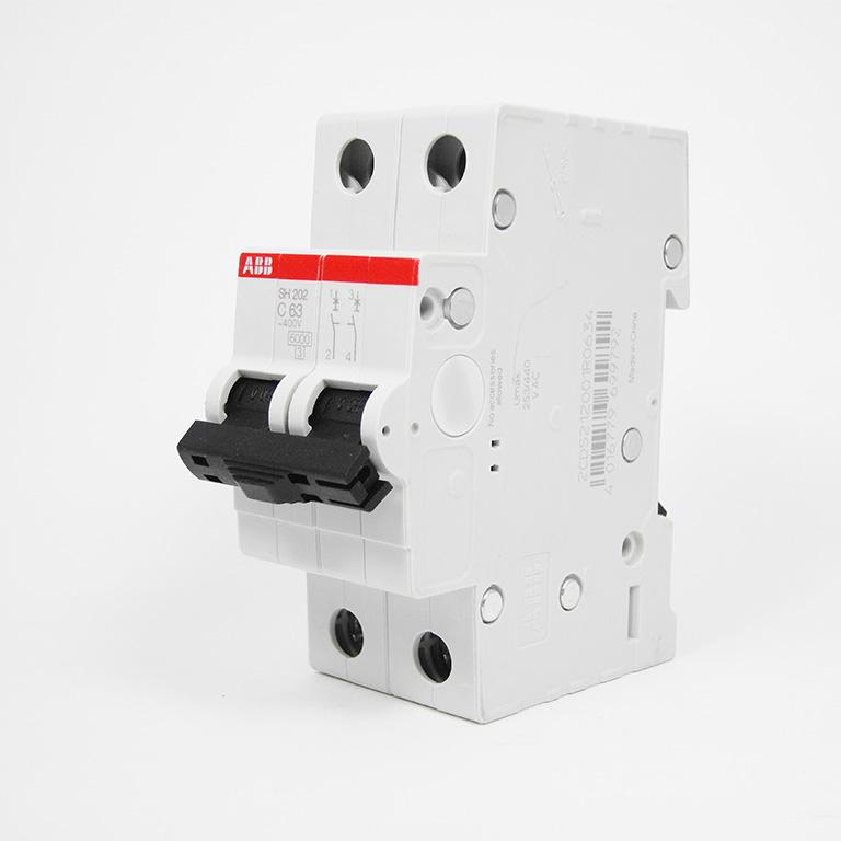 ABB 2P63A磁吹断路器 断路器空气开关