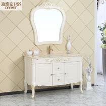 橡木大理石台面欧式 D-8007浴室柜