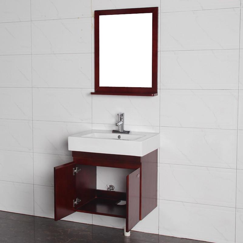 箭牌 一體陶瓷盆 浴室柜