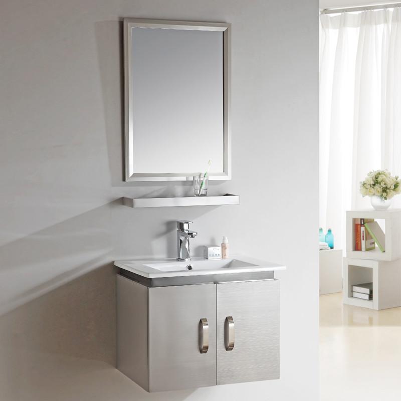 璽澤 拉絲不銹鋼浴室柜組合 浴室柜