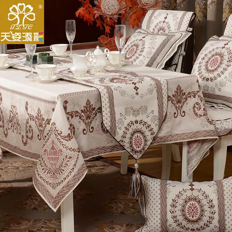 天姿添彩 布植物花卉欧式 sbl-cztc桌布