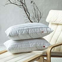 荞麦壳平纹棉布花草长方形 枕芯