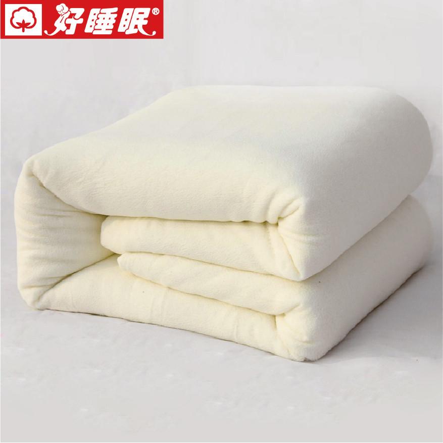 好睡眠冬季长绒棉优等品棉花被子