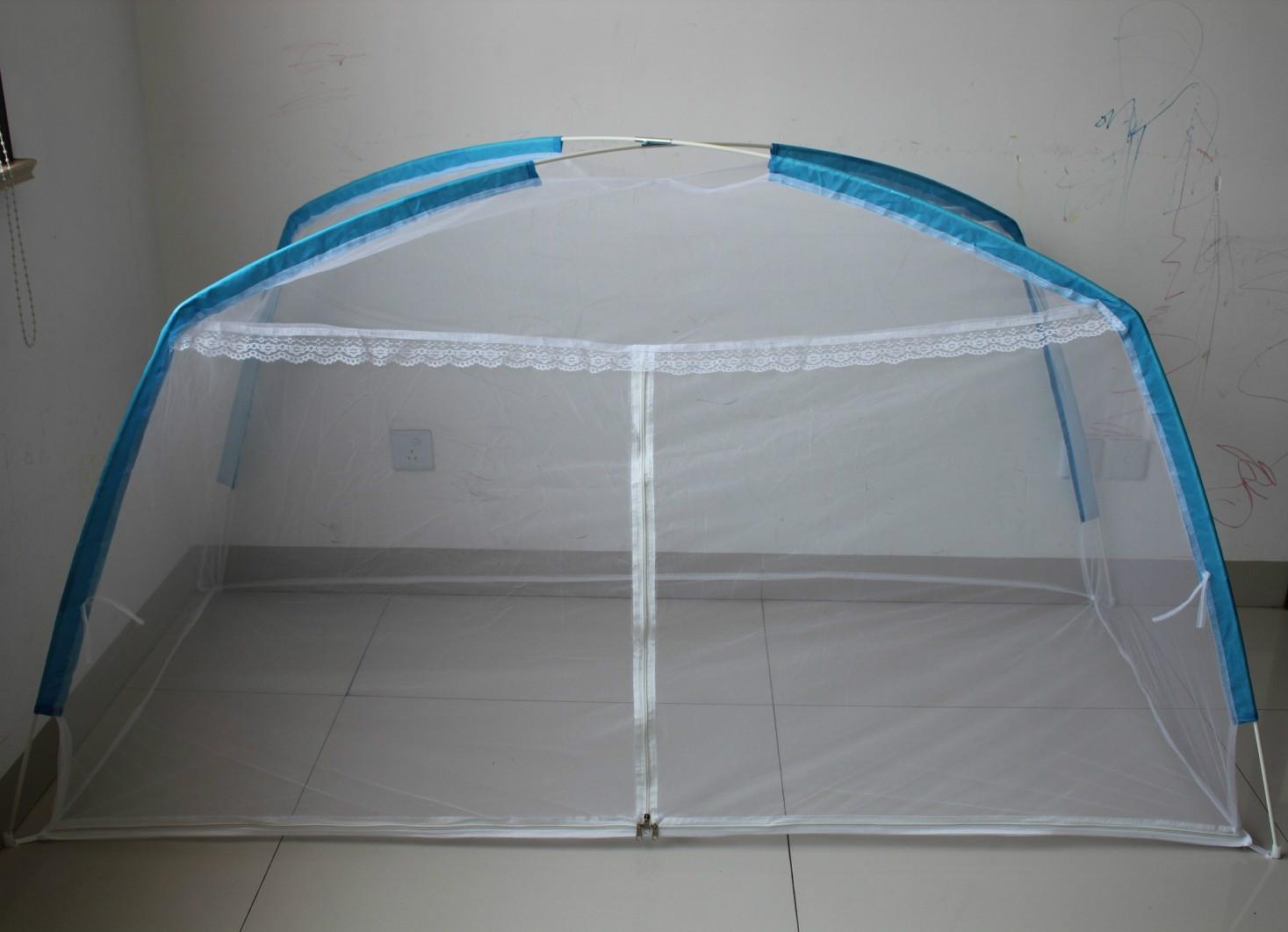 三福居玻璃纤维管床幔蒙古包式学生蚊帐