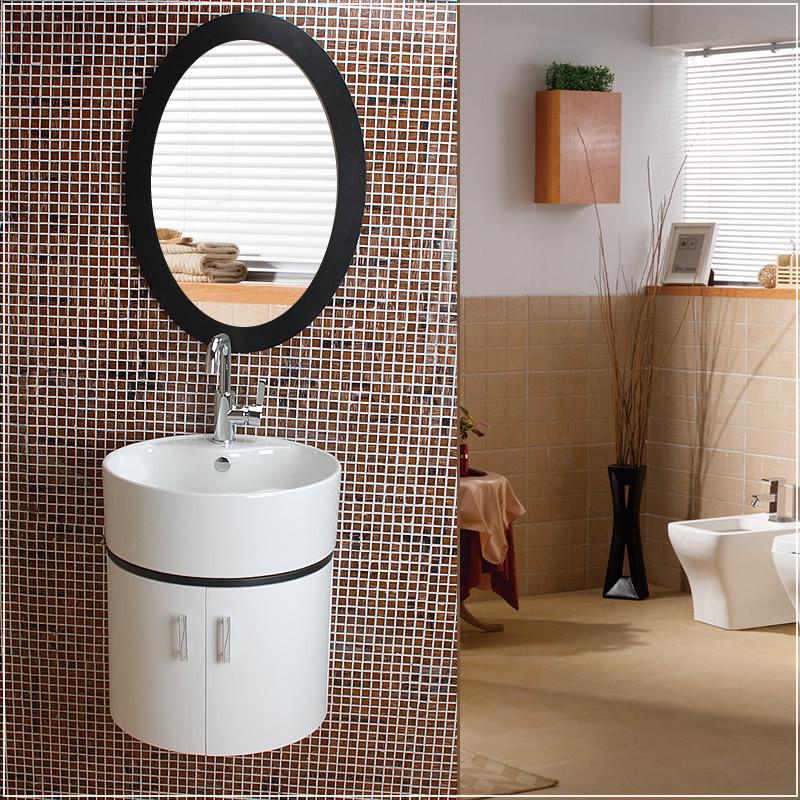 尚象卫浴板含带配套面盆简约现代浴室柜