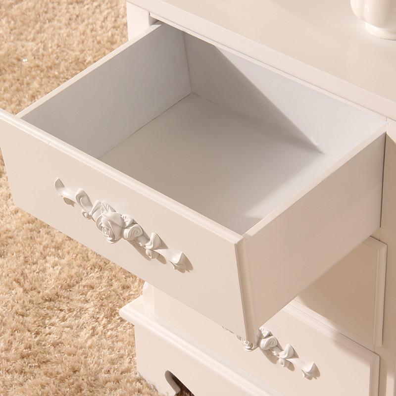 简雅佳家居人造板箱框结构松木储藏艺术成人简约现代床头柜