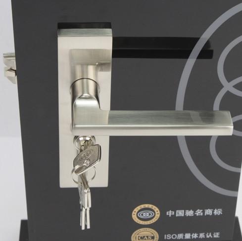 三环通用型锁室内门斜舌-锁具