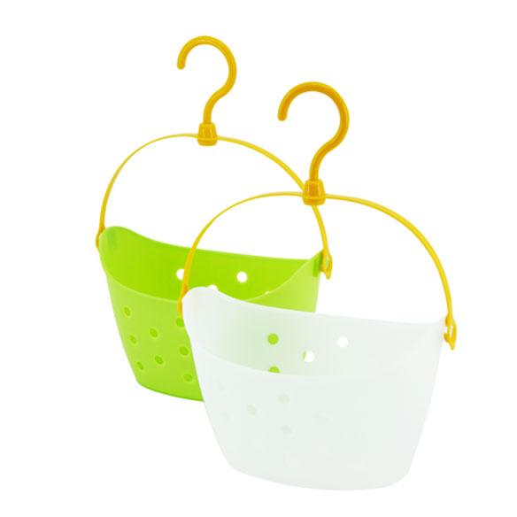 浪漫?;?白色绿色塑料 挂钩
