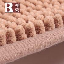 绒面门厅纯色美式乡村机器织造 地垫