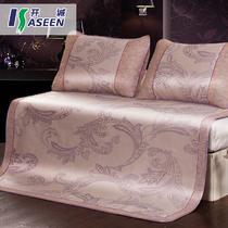 再生纤维素纤维PX386-银杏飞舞凉席套件折叠式 凉席
