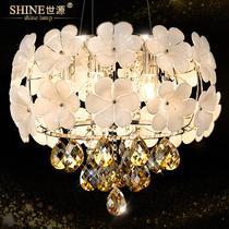 玻璃水晶田园节能灯LED 吊灯