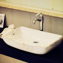 陶瓷无孔 012双层洗手盆