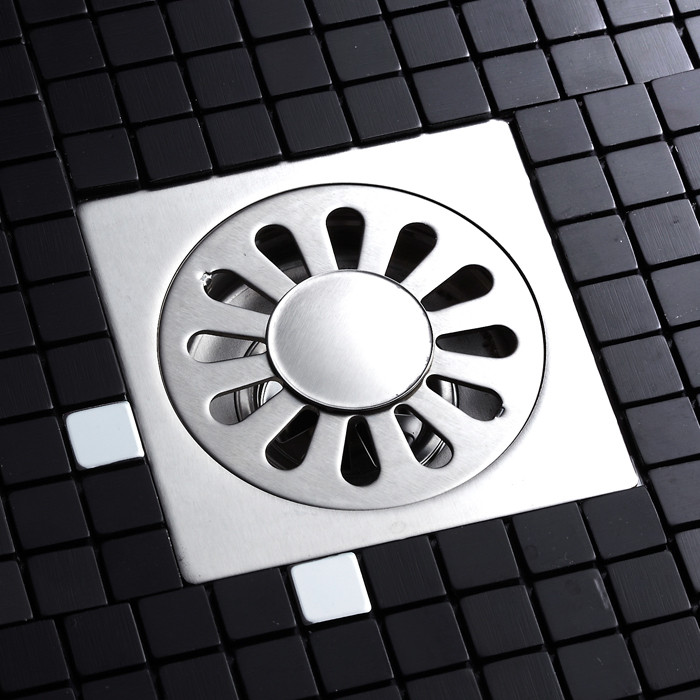 香格里不锈钢洗衣机地漏方形防臭式地漏