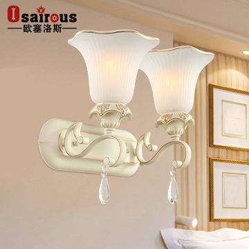 欧塞洛斯镜前灯镜前灯玻璃树脂欧式雕刻白炽灯节能灯壁灯
