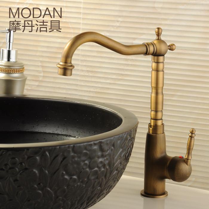 摩丹潔具 黃銅陶瓷片閥芯單把單孔 MD-123龍頭