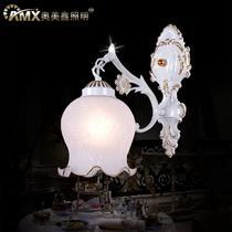 玻璃合金欧式喷漆磨砂白炽灯节能灯LED 壁灯