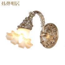 玻璃树脂欧式白炽灯节能灯LED XB6068/1壁灯