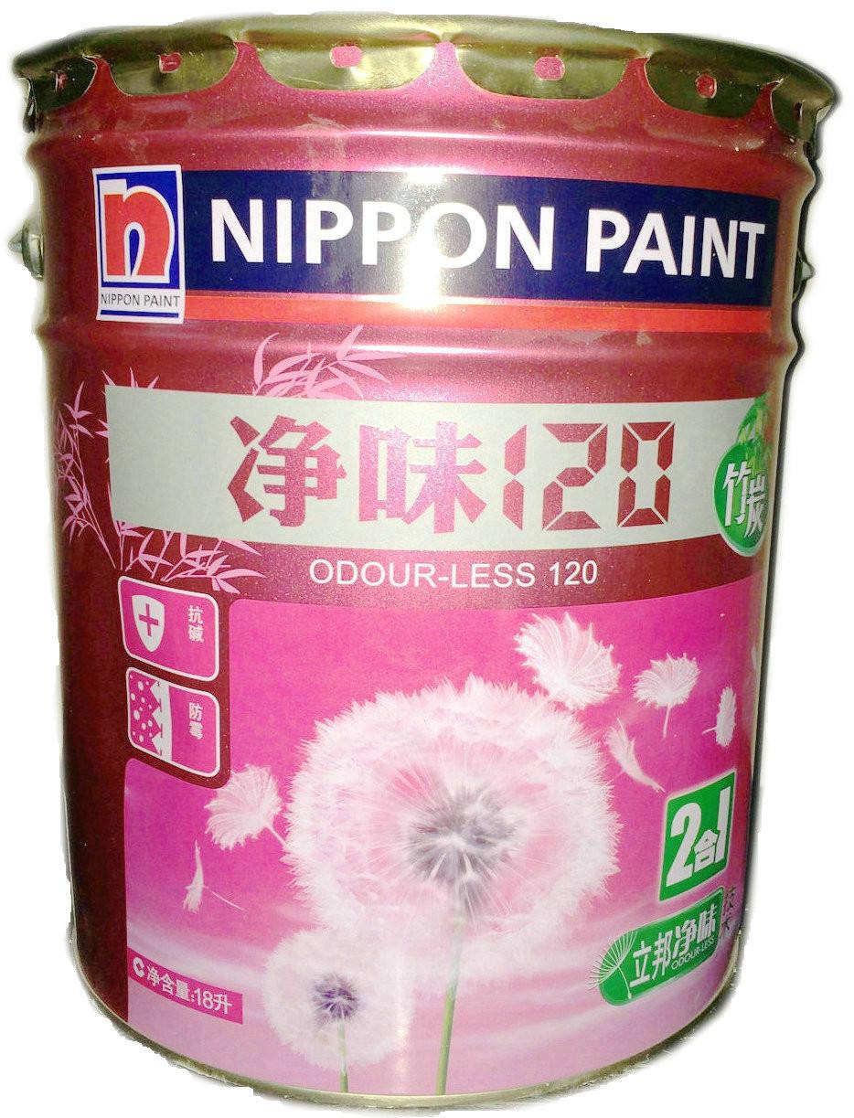 立邦漆 面漆啞光 立邦竹炭凈味120二合一涂料