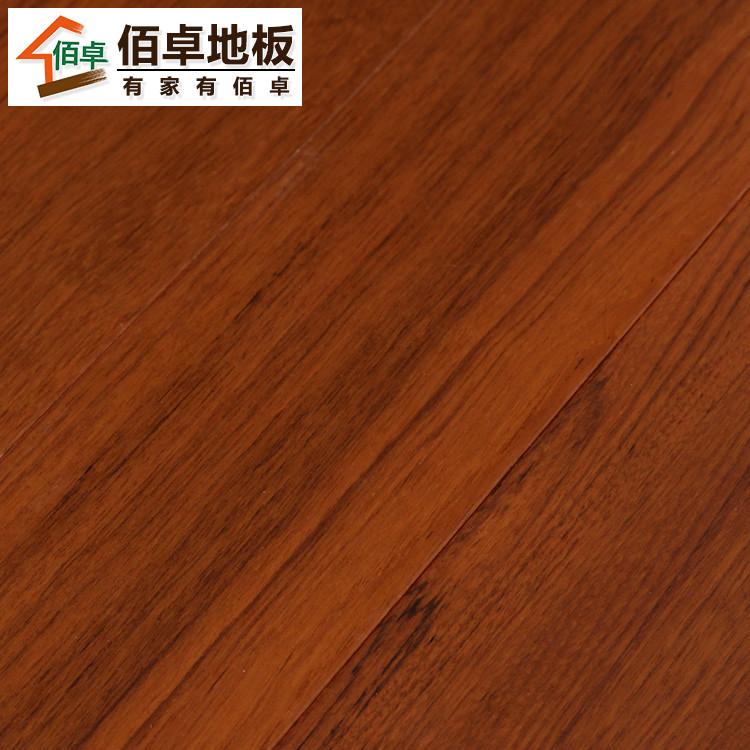 佰卓柚木杂柳平口杨木类实木复合地板地板