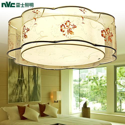 雷士 PVC鐵簡約現代圓形節能燈 NSX1535-4吸頂燈