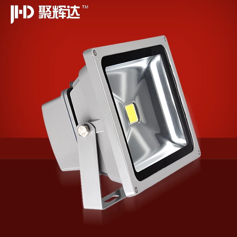 聚辉达 投光灯玻璃铝现代中式镀铬LED 户外灯道路灯