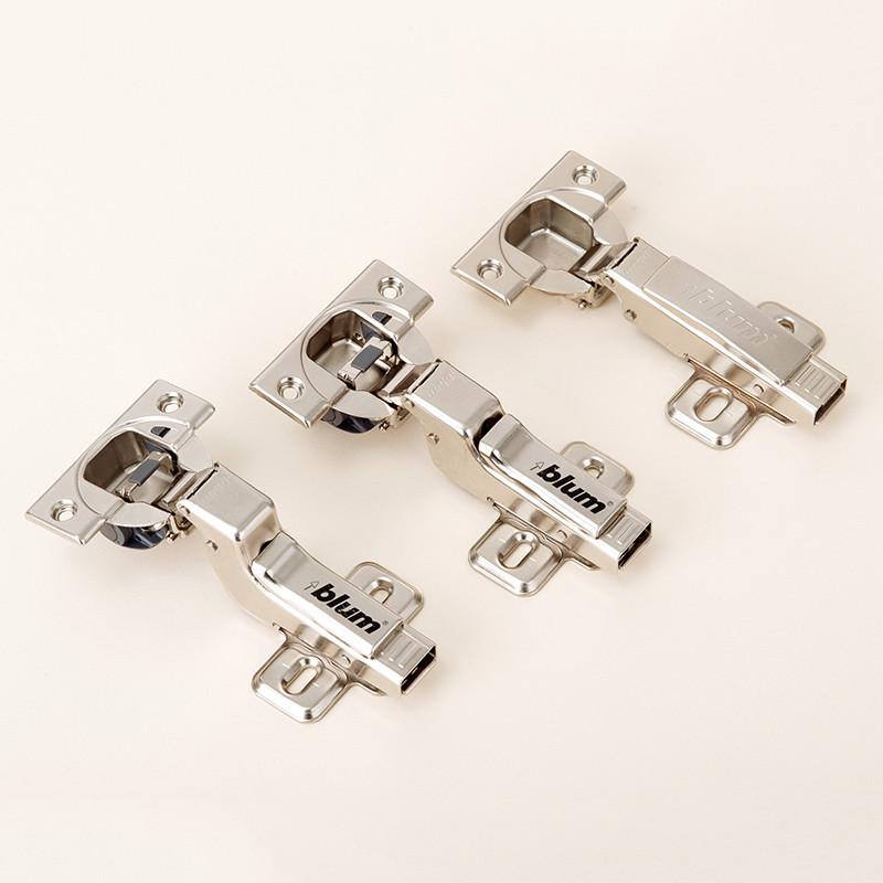 百隆 鐵脫卸式液壓緩沖鉸鏈卡式 集成阻尼鉸鏈門窗配件鉸鏈