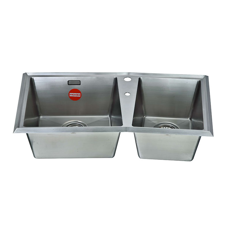 弗蘭卡 龍頭孔+皂液孔不銹鋼 PYX 620R11水槽