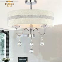 布铁水晶简约现代电动冲孔白炽灯节能灯LED 吊灯