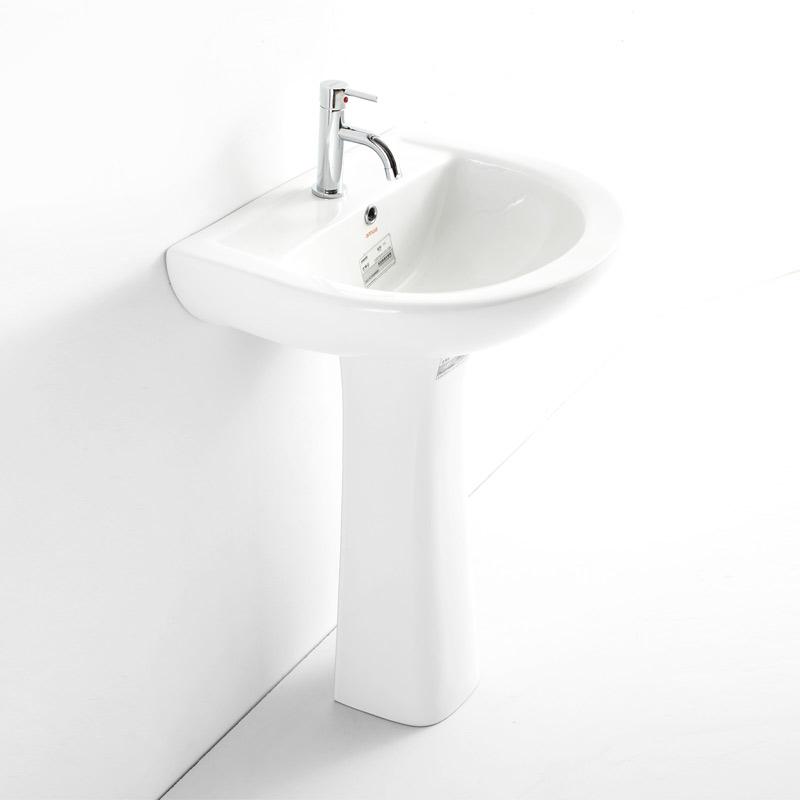 安华洁具 陶瓷单孔 eaP3500洗手盆