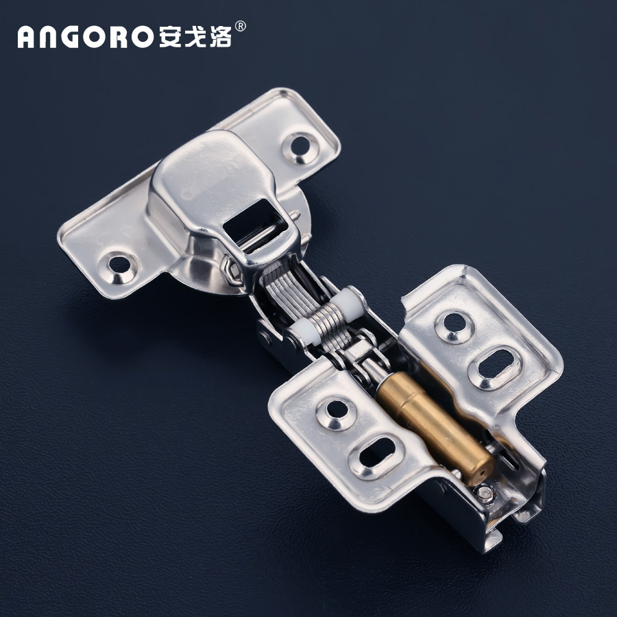 安戈洛 固定式 脫卸式液壓緩沖鉸鏈卡式 門窗配件鉸鏈