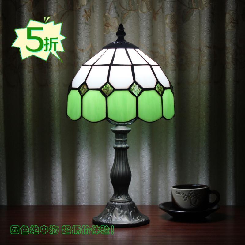 爱福德玻璃树脂欧式白炽灯节能灯-台灯
