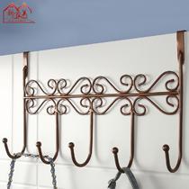 黑色古铜白色焊接铁金属工艺悬挂成人欧式 衣帽架