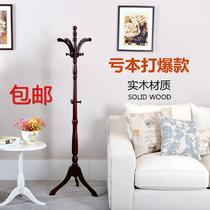 木质工艺车床支架结构拆装植物花卉成人简约现代 衣帽架