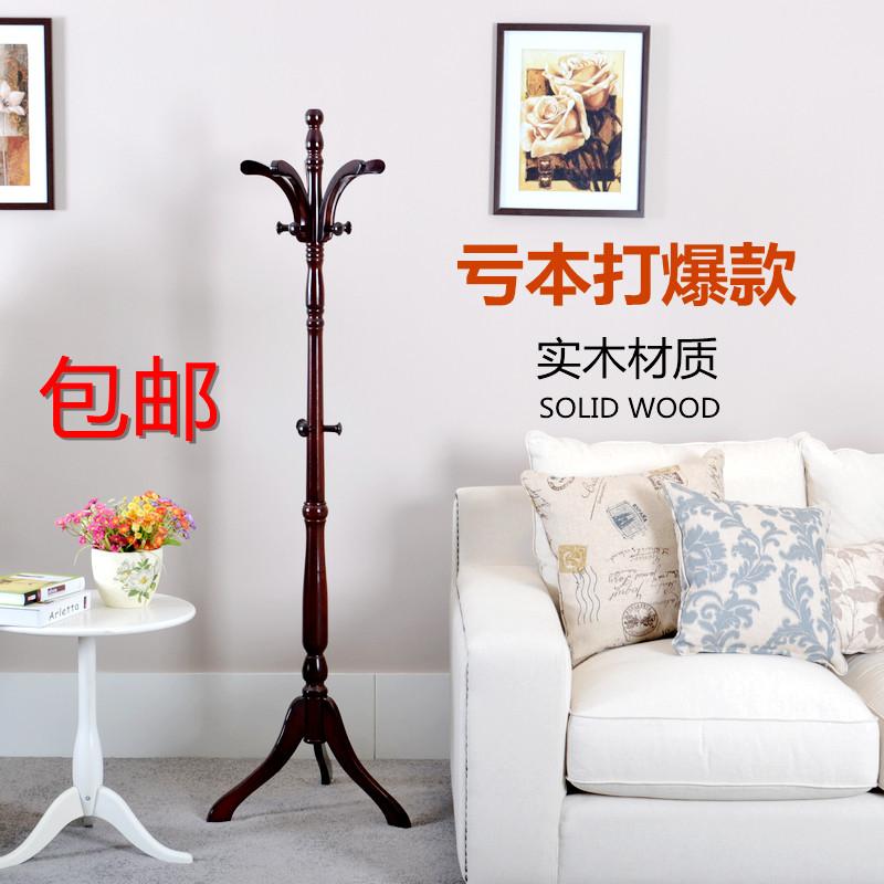 木质工艺车床支架结构拆装植物花卉成人简约现代衣帽架