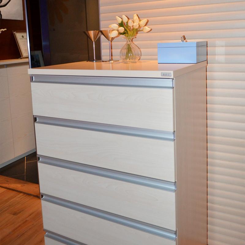 索菲亚 人造板密度板/纤维板箱框结构推拉成人简约现代 五斗柜斗柜