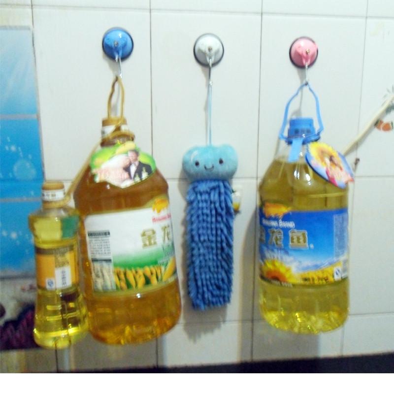 章鱼塑料金属吸盘挂钩