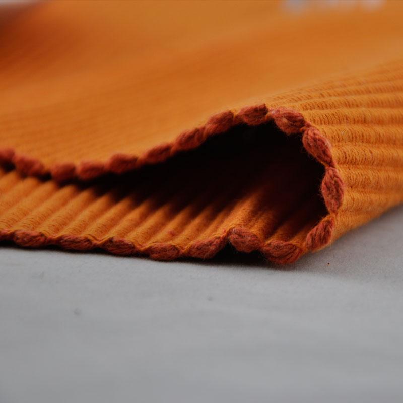 浩然依依 黑白条纹咖啡色桔色布北欧/宜家 餐垫