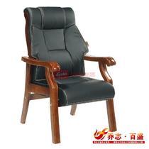 黑色系高弹性记忆海绵职工椅/电脑椅皮衣上海真皮现代简约 椅子