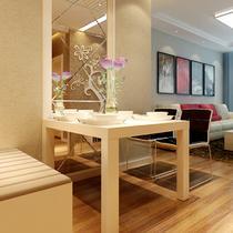 组装密度板/纤维板支架结构多功能艺术长方形简约现代 餐桌