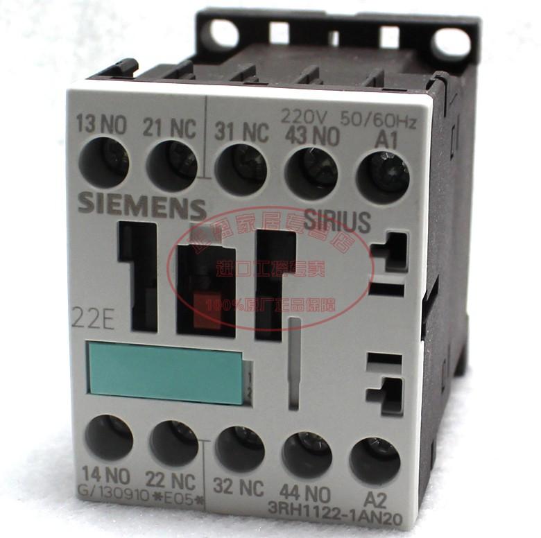 西门子 二开二闭 3RH1122-1AN20继电器