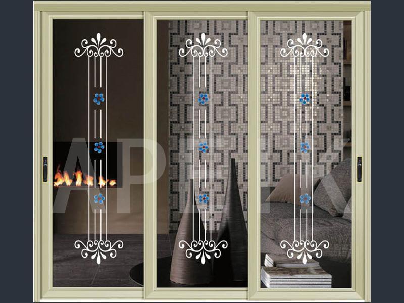 型号 sd-349 边框材质 铝合金 门板材质 玻璃 计价单位 平方米 装修