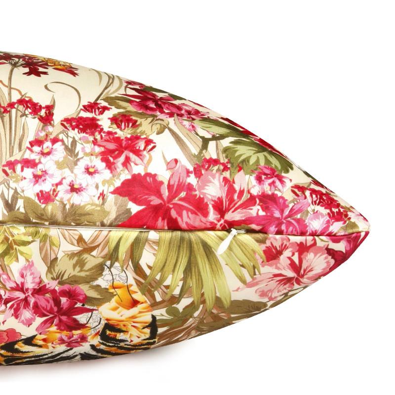 多彩汇 大自然的爱恋布靠垫化纤植物花卉田园 靠垫