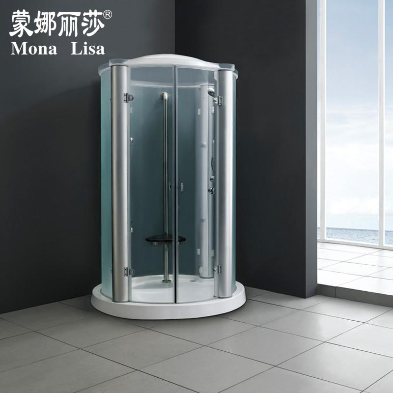 蒙娜麗莎 白色平開門式 淋浴房