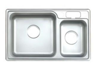 摩恩 鉻色不銹鋼 23606水槽