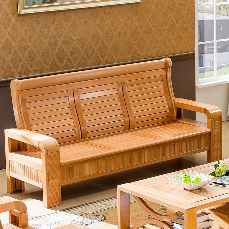 华逸轩形车床榉木简约现代沙发