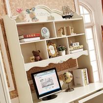 散装电脑桌书架橡胶木拆装单个欧式 书桌