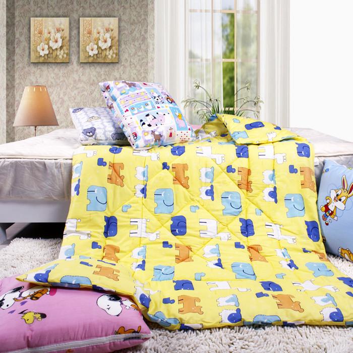 比家美靠垫被化纤卡通动漫韩式抱枕