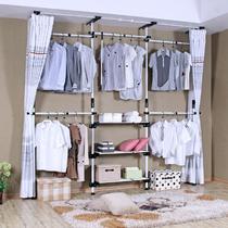 金属钢支架结构多功能简约现代 AG430衣柜